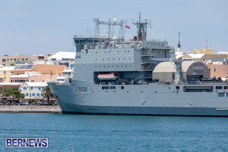RFA Mounts Bay Bermuda, May 18 2019-6738