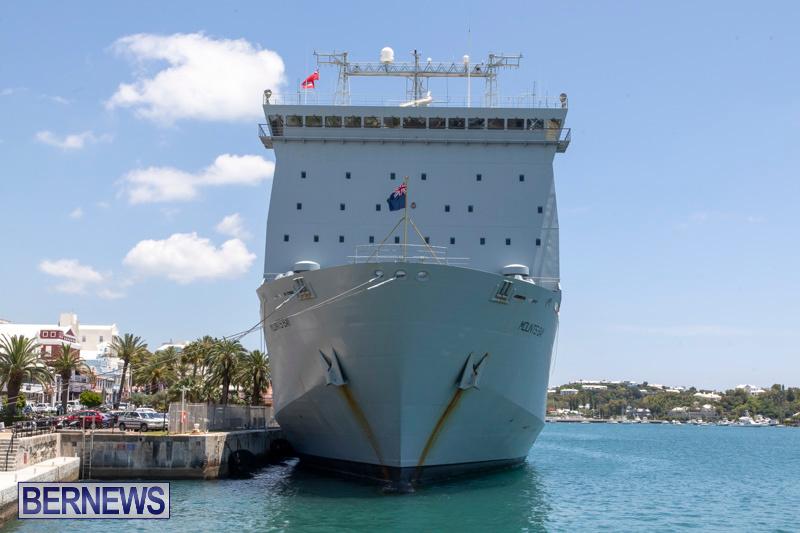 RFA Mounts Bay Bermuda, May 18 2019-6745