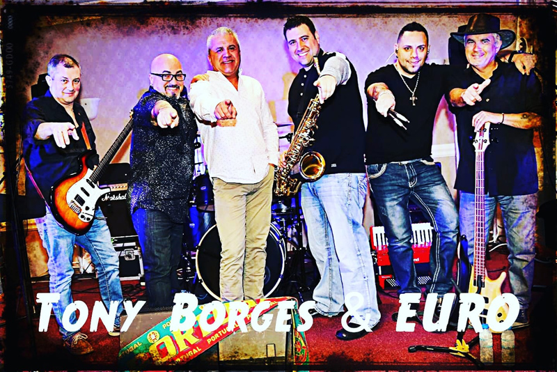 Tony Borges and Euro Band Bermuda May 2019