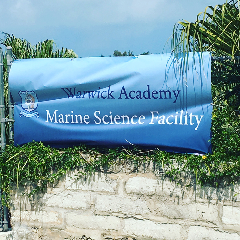 Warwick Academy Marine Science Facility Ground Breaking Bermuda May 2019 (1)