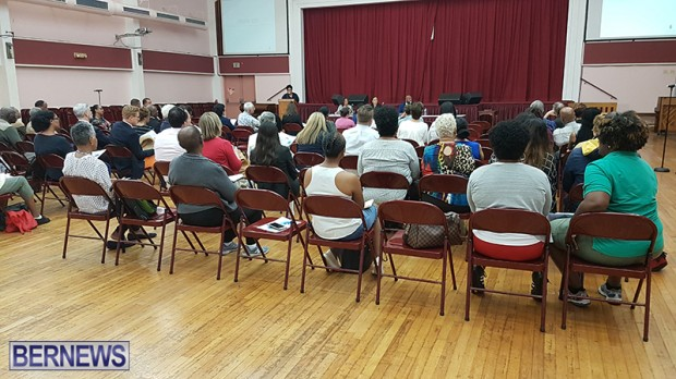 town hall meeting Bermuda May 16 2019