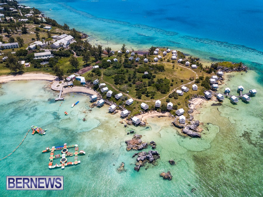 280 A fantastic aerial view of 9 Beaches in the west end, a beautiful part of the Island