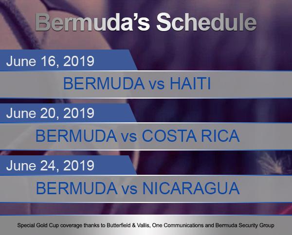 Bermuda Football Team Schedule 2019 Gold Cup One BV BSG