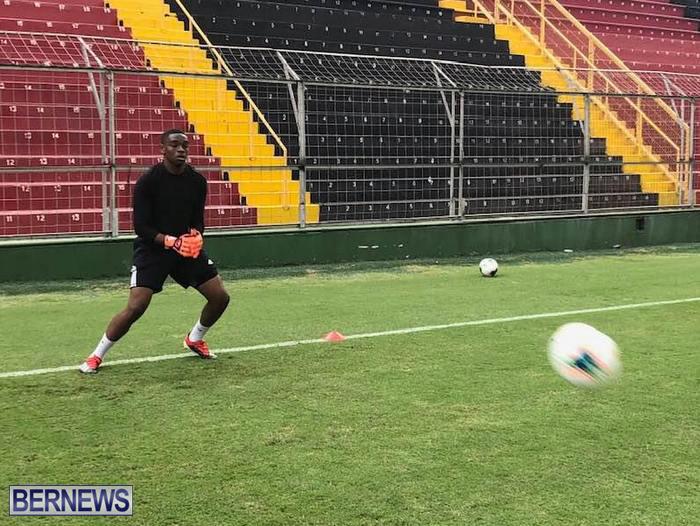 Bermuda Football Team training in Costa Rica June 14 2019 (2)