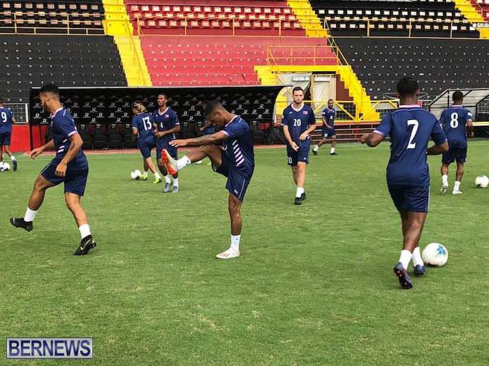 Bermuda Football Team training in Costa Rica June 14 2019 (4)