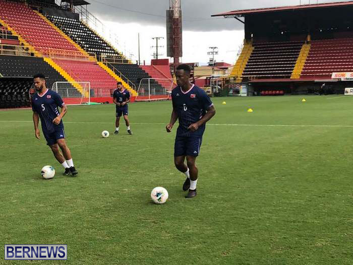 Bermuda Football Team training in Costa Rica June 14 2019 (5)