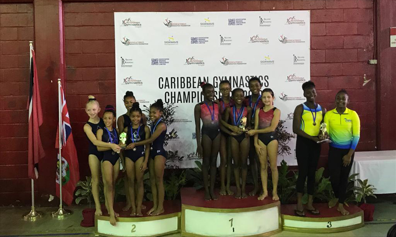 Bermuda Gymnasts Excel At Caribbean Champtionship June 2019 (1)