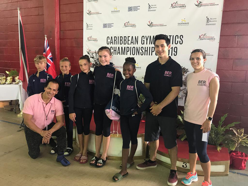 Bermuda Gymnasts Excel At Caribbean Champtionship June 2019 (4)