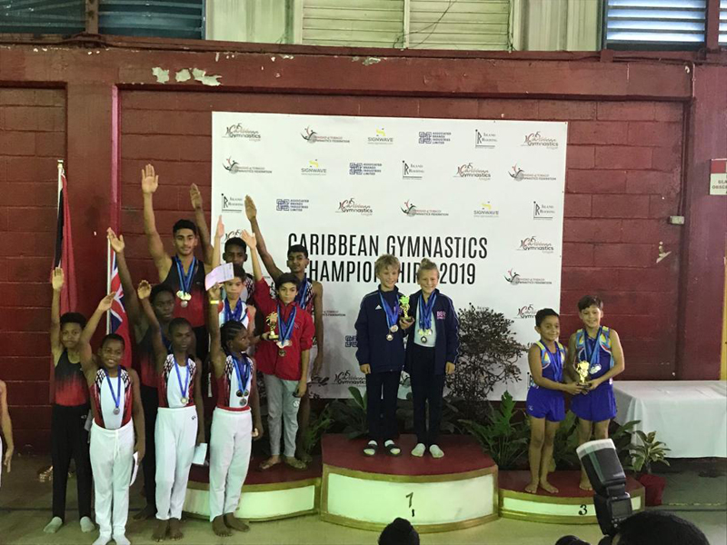 Bermuda Gymnasts Excel At Caribbean Champtionship June 2019 (6)