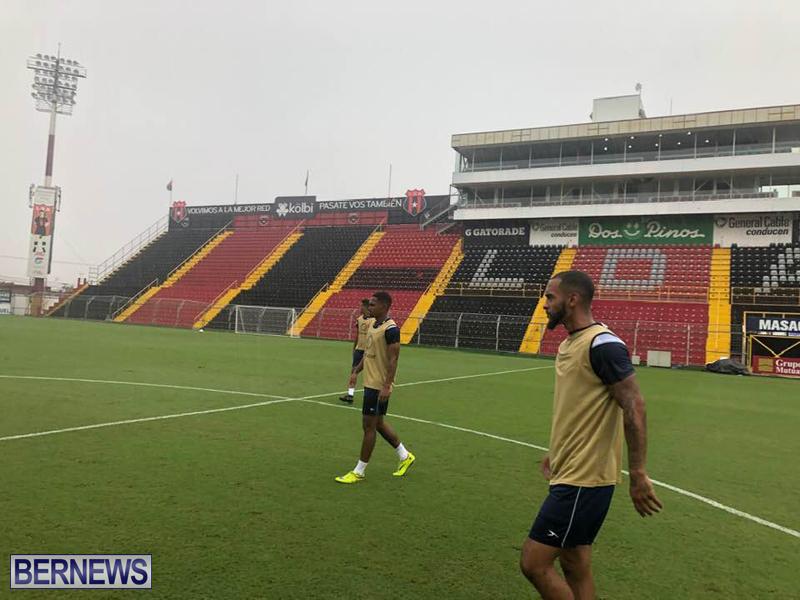 Bermuda football team training session June 2019 (3)