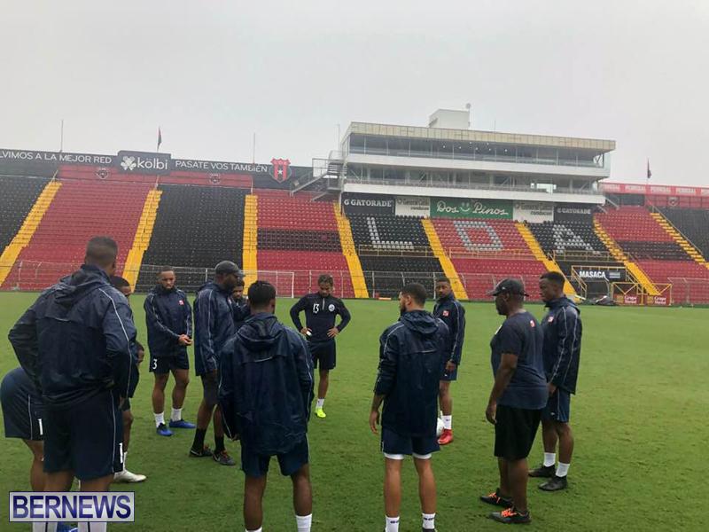 Bermuda football team training session June 2019 (8)