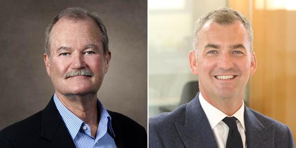 Brian Duperreault and Arthur Wightman Bermuda June 2019