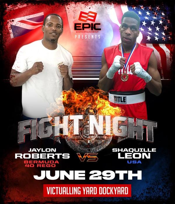 Jaylon Roberts vs Shaquille Leon Bermuda June 2019