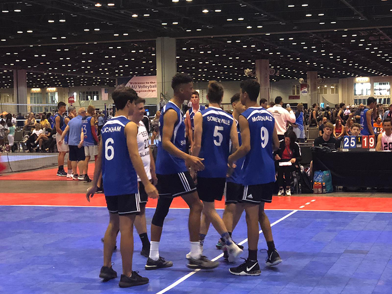 Junior Boys National Volleyball AAU Bermuda June 2019 (18)
