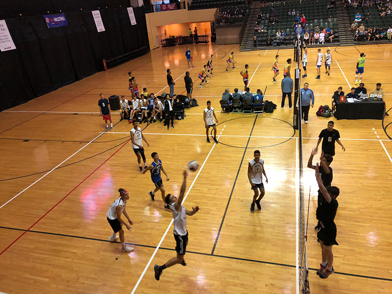 Junior Boys National Volleyball AAU Bermuda June 2019 (9)