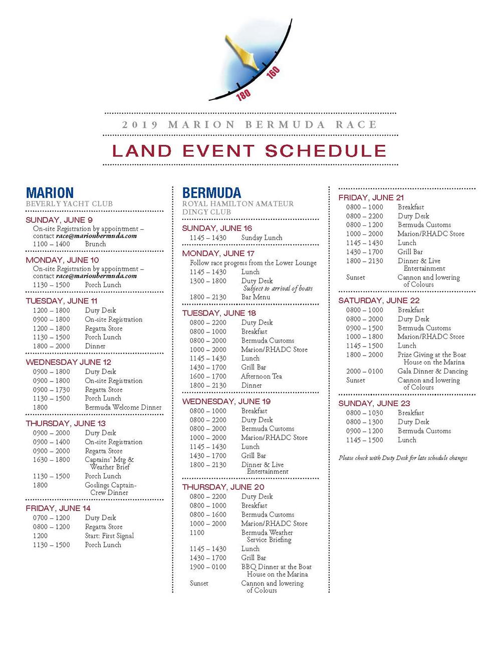 Marion Bermuda Race Bermuda June 23 2019 10