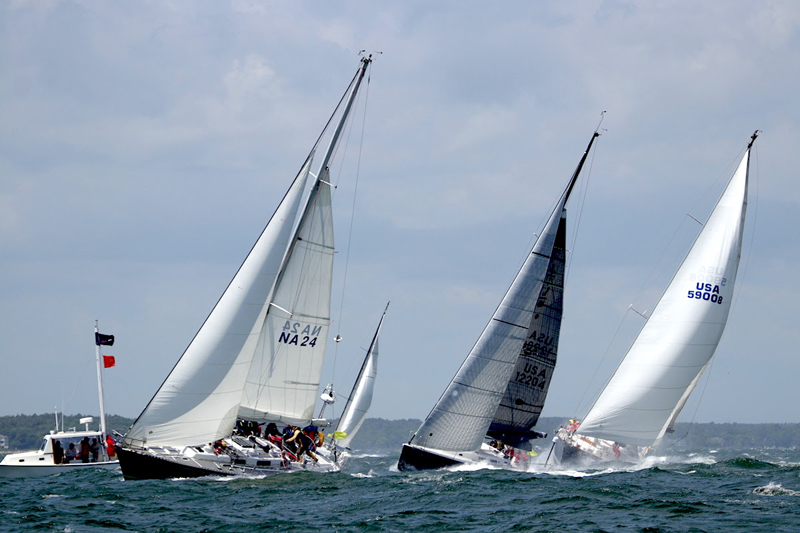 Start of the 2019 Marion Bermuda Race