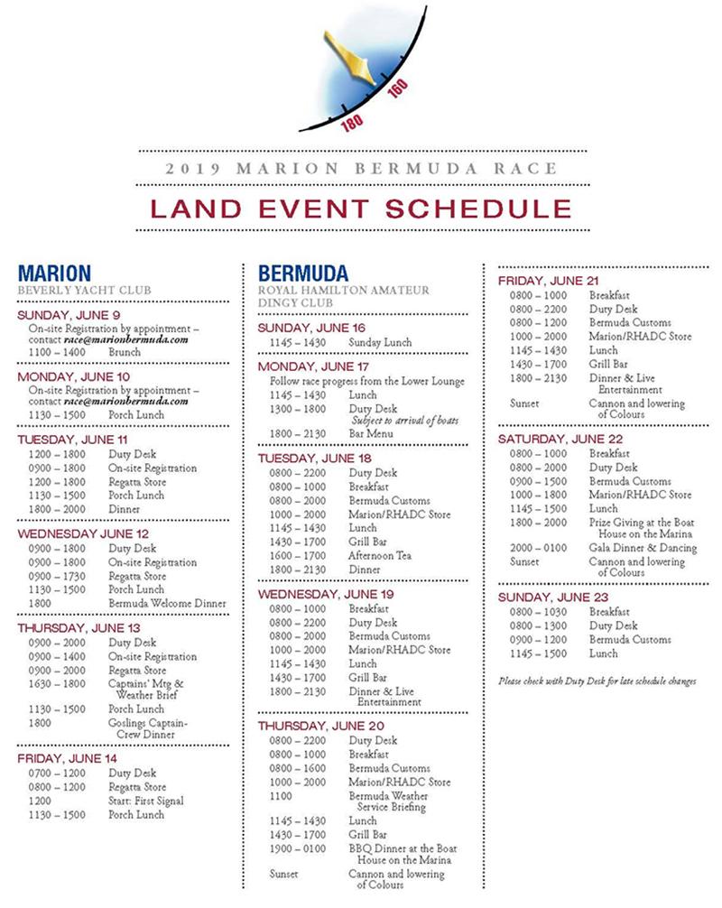 Marion Bermuda Race June 2019