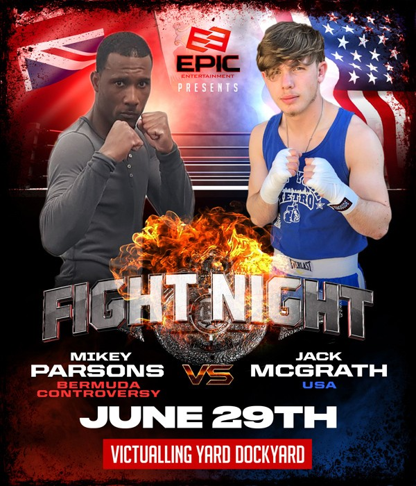 Mikey Parsons vs Jack McGrath Bermuda June 2019