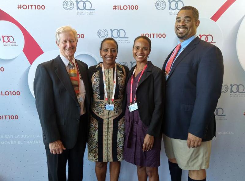 Minister Foggo - ILO Conference Bermuda June 2019