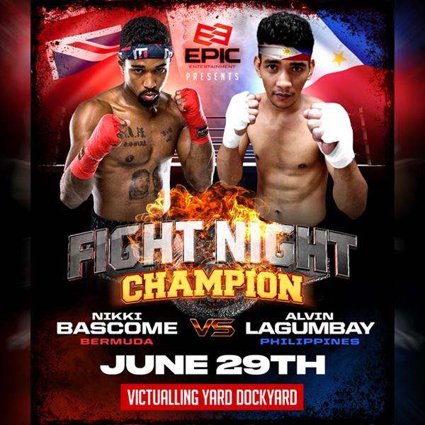 Nikki Bascome vs Alvin Lagumbay Bermuda June 2019