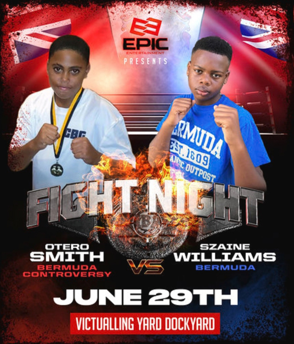 Otero Smith vs Szaine Williams Bermuda June 2019