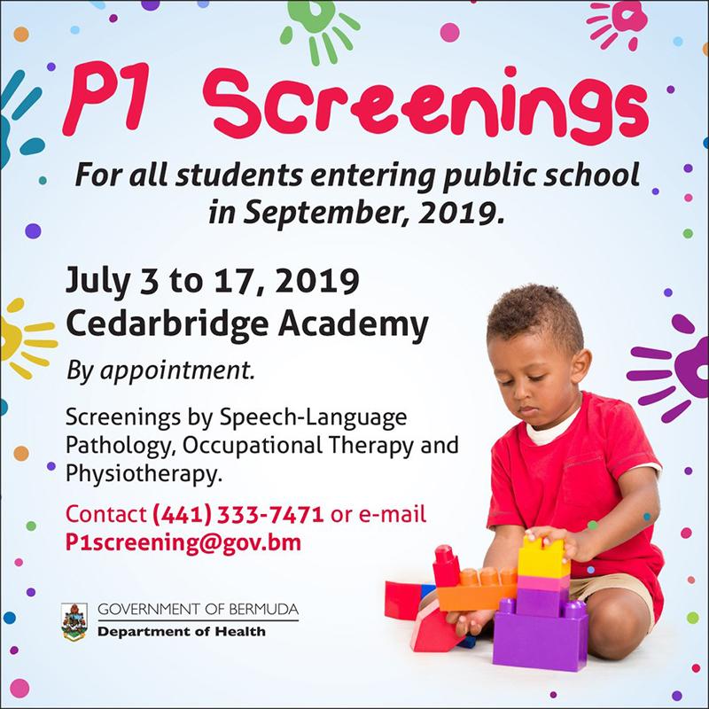 P1 Screening Bermuda June 23 2019