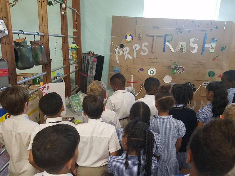 Port Royal Primary School's Trash To Treasure June 2019 (6)