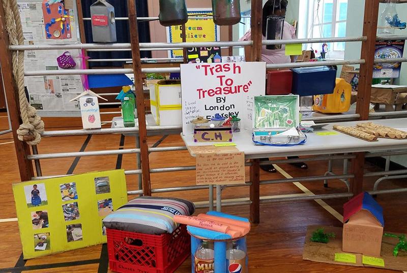 Port Royal Primary School's Trash To Treasure June 2019 (7)