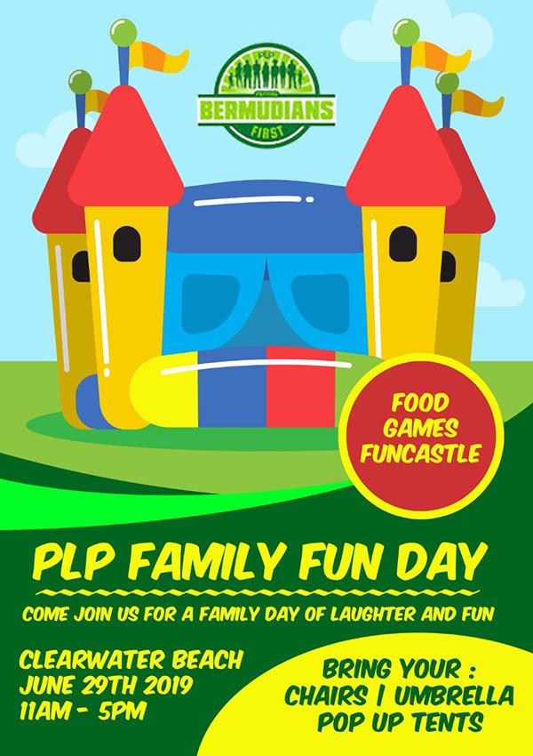 Progressive Labour Party 2019 Family Fun Day Bermuda June 2019