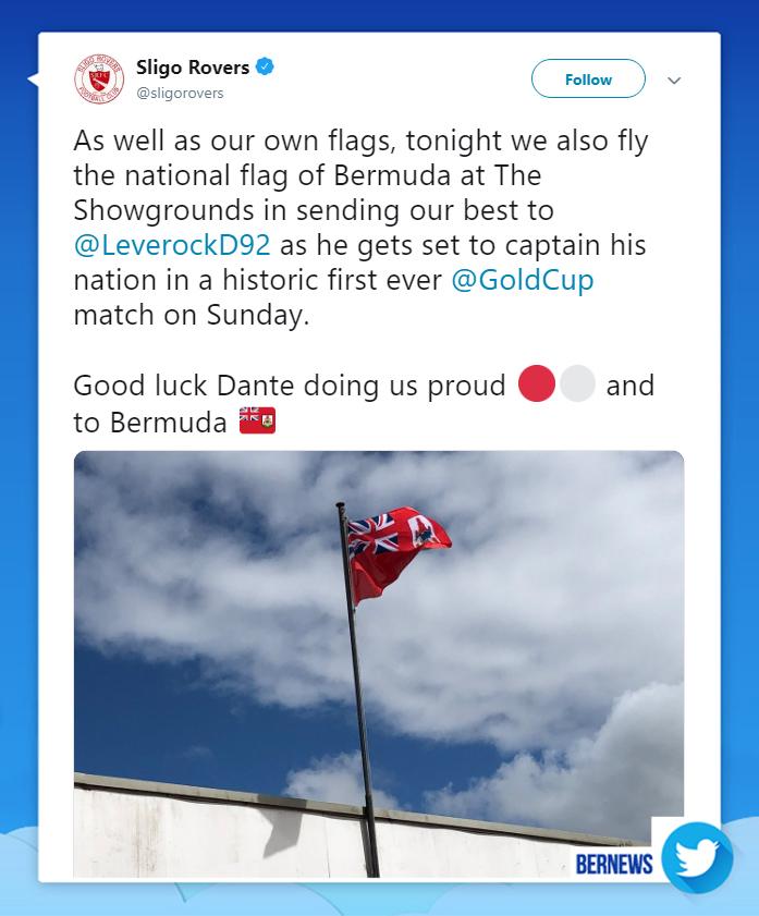 Sligo Rovers tweet June 2019