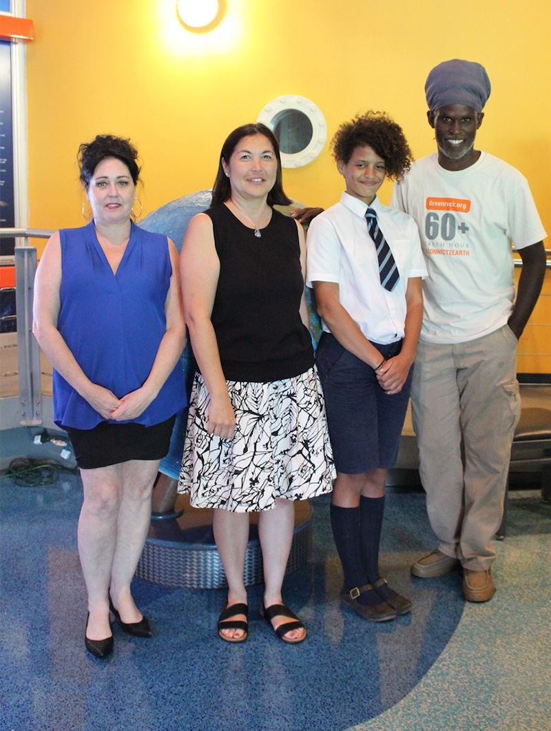Tara Curtis, Julie Steele, Roxy Wingate, & Eugene Dean Bermuda June 2019