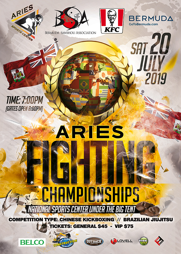 Aries Fighting Championships Bermuda July 2019