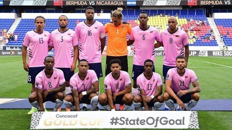 Bermuda Football Team July 7