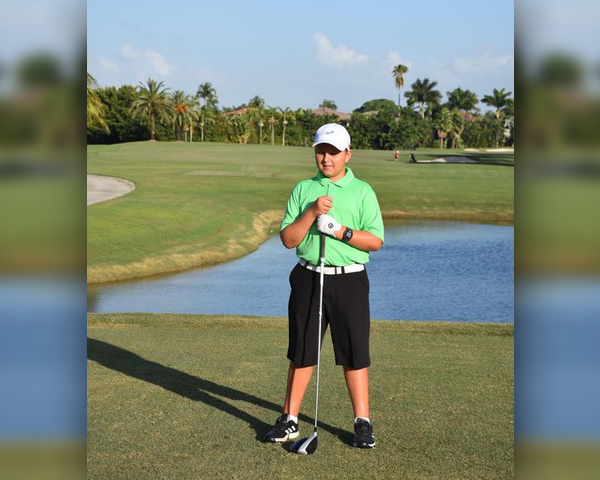 Bermuda Junior Golfer Oliver Betschart July 2019 (2)