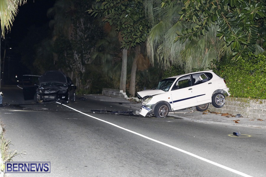Car Collision Paget Bermuda, July 14 2019 (5)