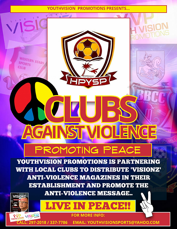 Clubs Against Violence Campaign Bermuda July 2019 (4)