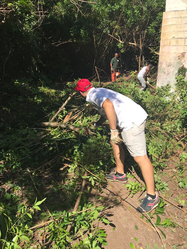 Community Clean Up At Southlands Bermuda July 2019 (2)