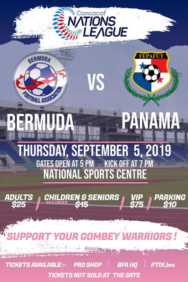 Concacaf Nations League Bermuda July 2019