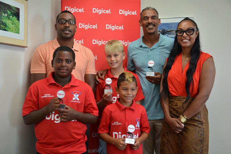 Cricket Digicel U12 Youth Summer League MVPs Bermuda July 2019