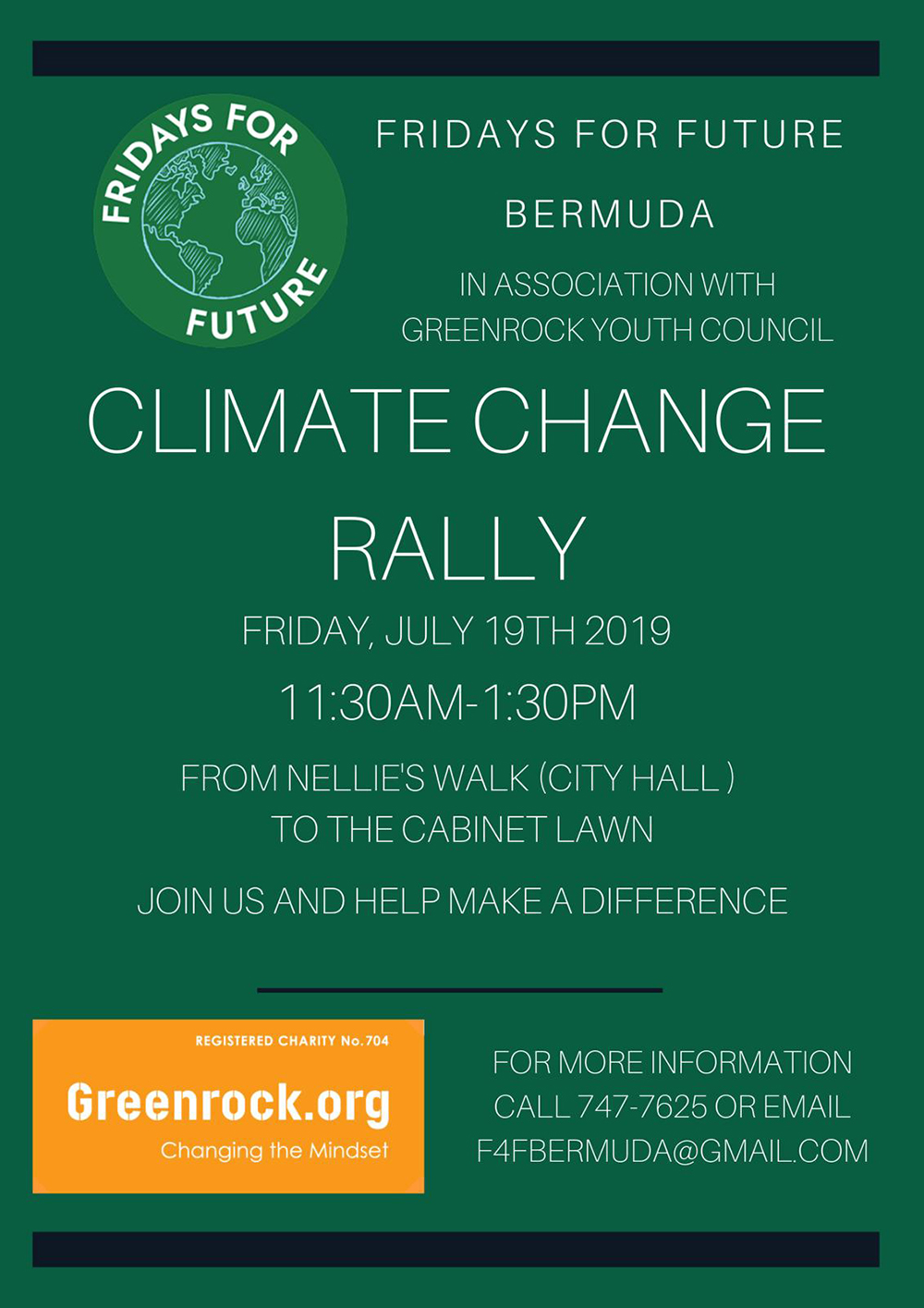 F4F Climate Rally July 19 2019
