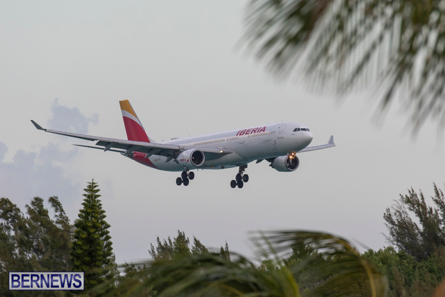 Iberia 6621 Airplane Medical Diversion Bermuda, July 25 2019-1649