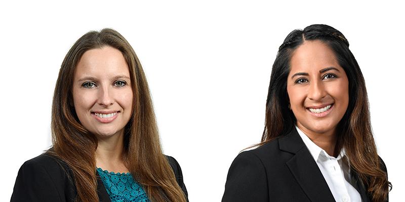 Josephine Noddings & Lalita Vaswani Appleby Bermuda July 2019