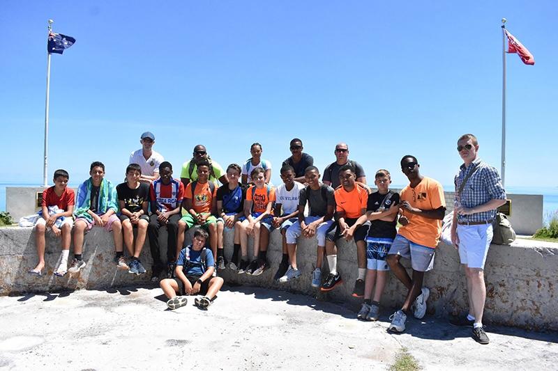 Junior Leaders Awards After Camp Bermuda July 2019 (1)
