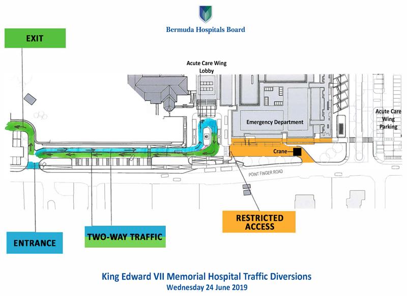 KEMH Traffic Diversion - 25 June 2019