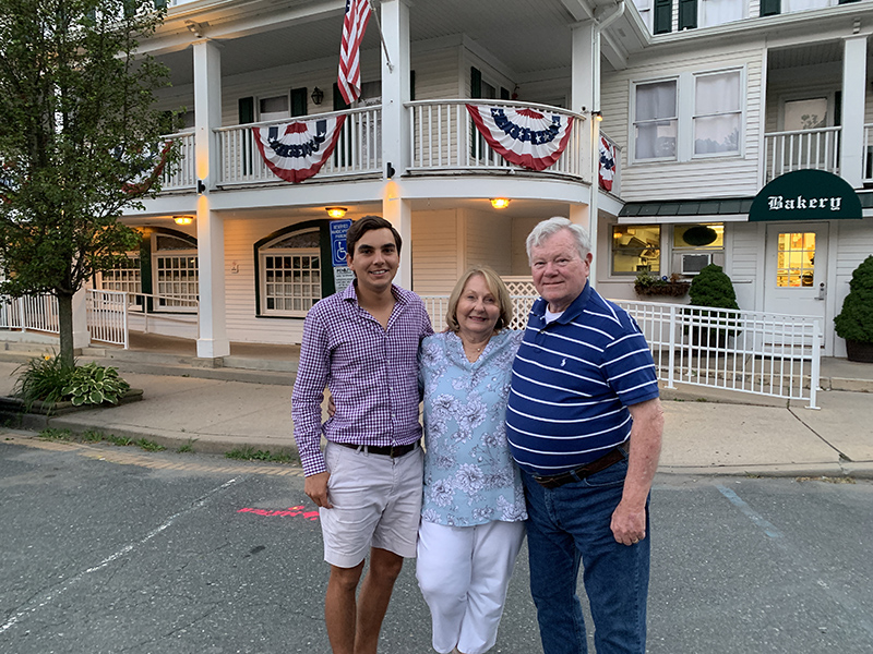 Kenny Thomson With Karen & Jack Gannon Bermuda July 2019 (1)