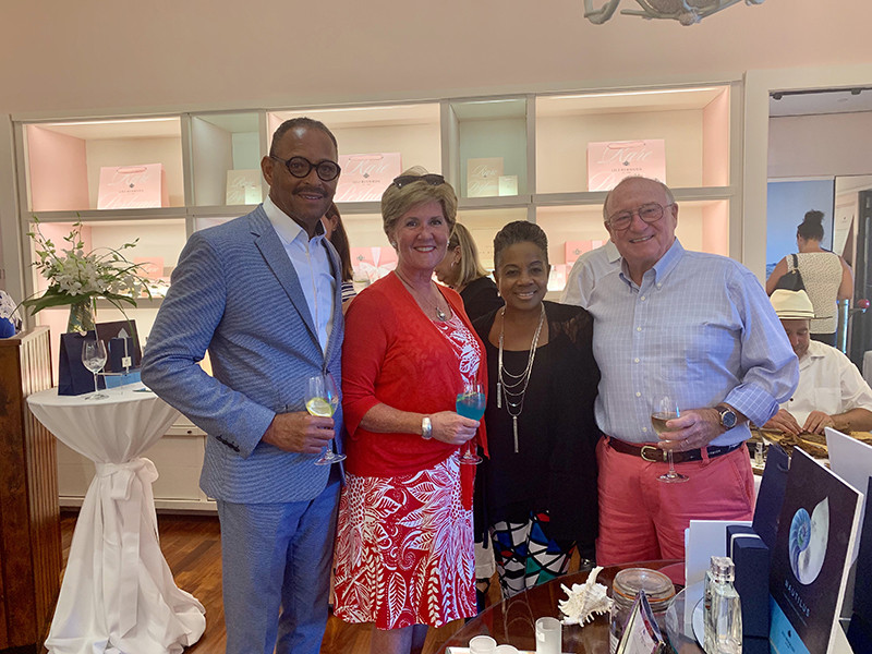 Lili Bermuda's  'Nautilus' Launch Bermuda July 2019 (2)
