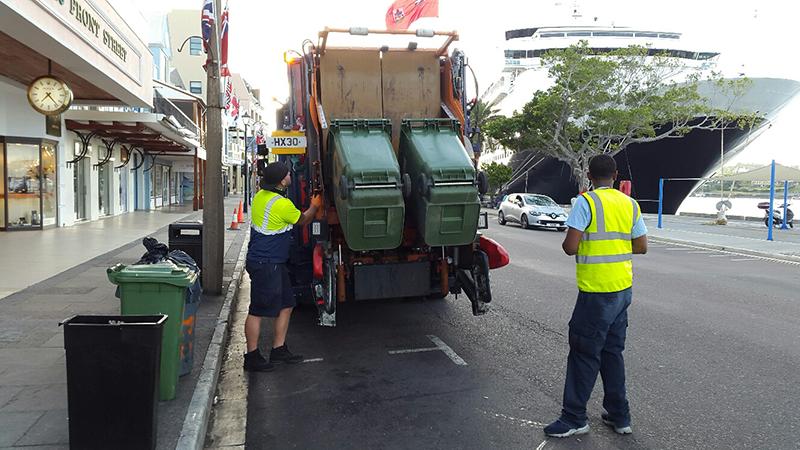 Proper Use Of Wheelie Bins & Rat Prevention Bermuda July 2019