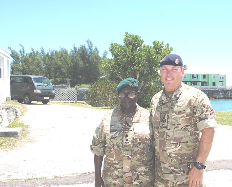 Regiment Bermuda July 8 2019 5