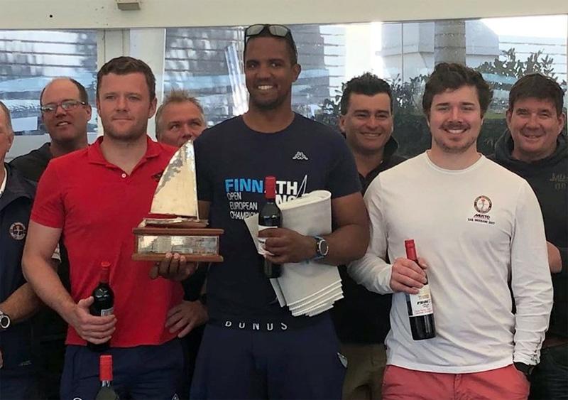 Rockal Evans wins Finn Qld Championship July 2019